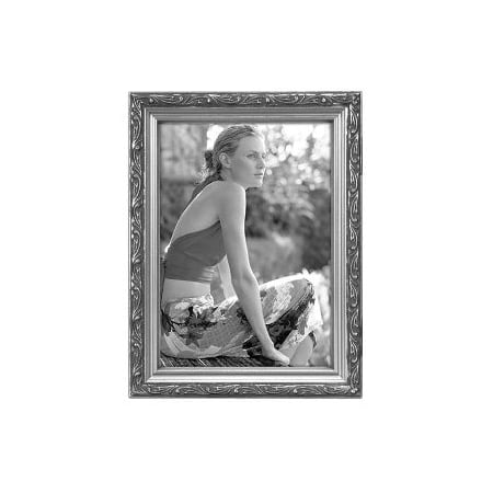 5x7 Picture Frame BEZEL - Silver (Silver Sterling Wood Picture Frame)