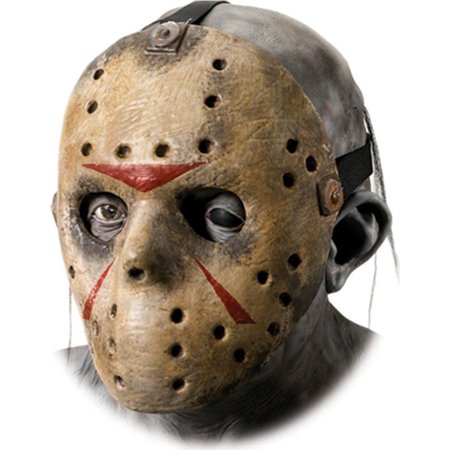 Morris Costumes Jason Hockey Mask Adult Halloween Accessory, Style, RU4170 - Hockey Mask Halloween