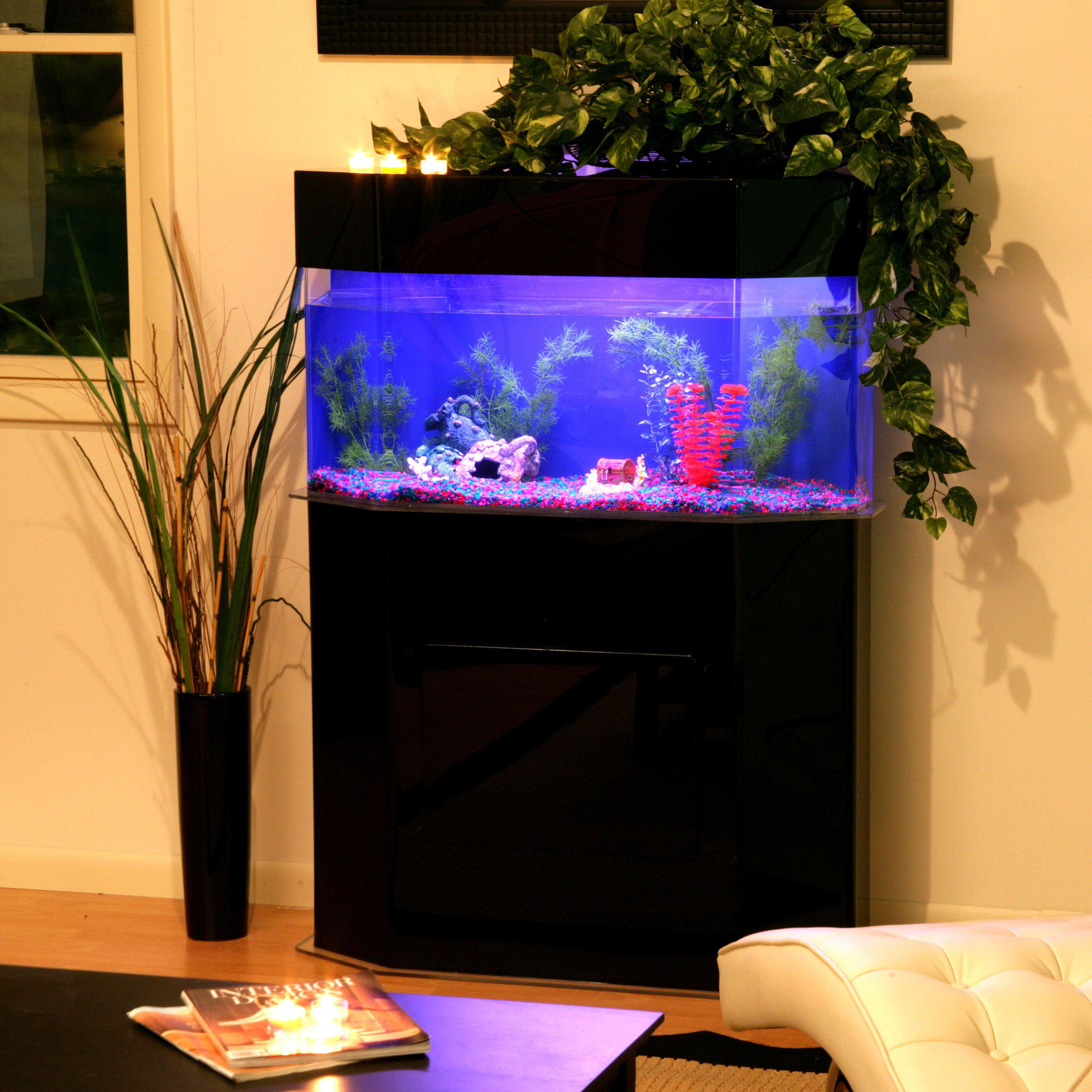 Clear For Life Pentagon Aquarium Walmart