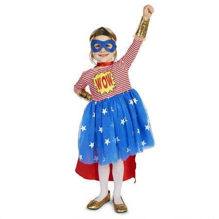 Pop Art Girl Costume (Pop Art Comic Superhero Girl Toddler)
