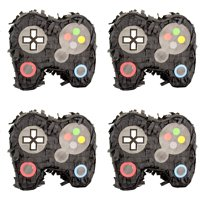 Extra Mini Video Game Controller Party Pinatas, 6in, 4ct