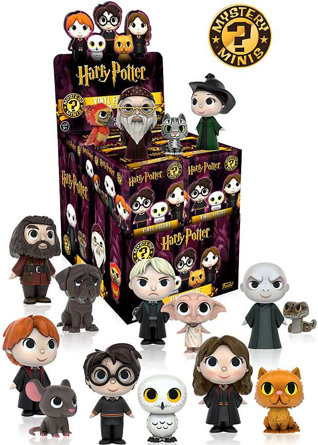 Funko Harry Potter Mystery Minis Mystery Box [12 Packs] by