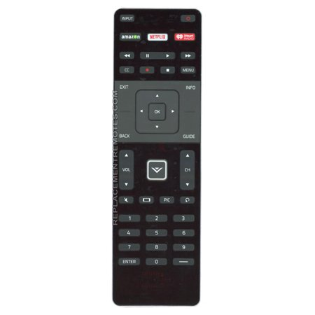 Substitute For Vizio Xrt302  P N  098003061060  Tv Remote Control  Vizio Xrt500 New Netflix Button  P N  790 00711 0002   New