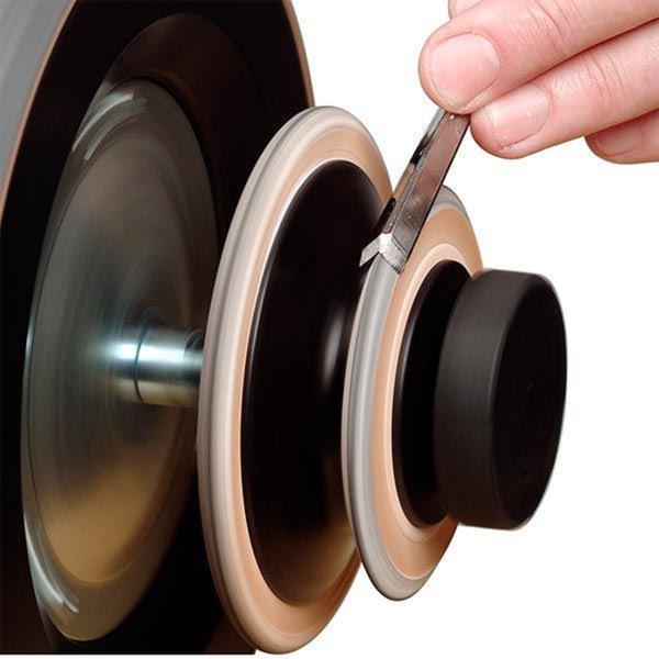 Tormek Profiled Leather Honing Wheel