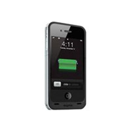 huge discount 763ff 7556e mophie Juice Pack Air - External battery pack Li-pol 1500 mAh - for Apple  iPhone 4