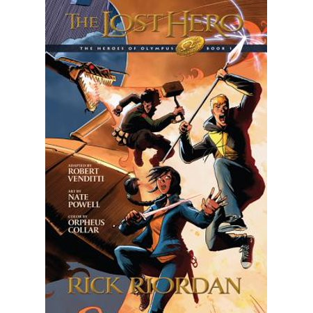 Heroes of Olympus, Book One The Lost Hero: The Graphic Novel (Heroes of Olympus, Book