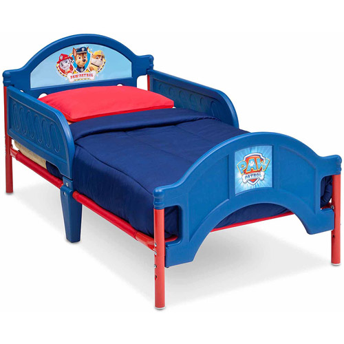 Paw Patrol Toddler Bed with Room Accessories