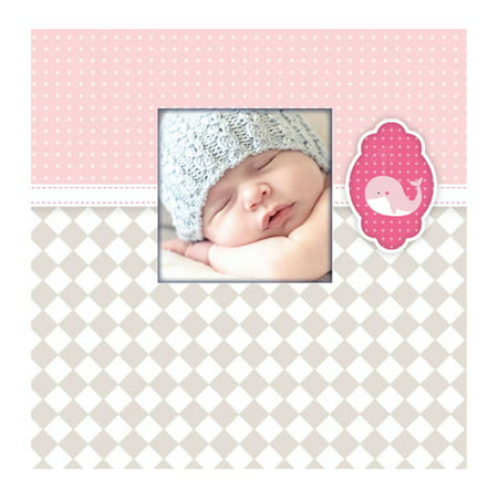 - Pinnacle Baby Whale Frame Front Album, 1 Each