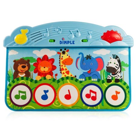 Animal Kick And Touch Musical Baby Piano Mat Walmart Com