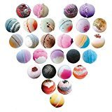 Set of Twelve, 5.5 oz Bubbling Bath Bombs, Seasonal Best Sellers from Soapie
