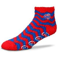 LA Clippers Women's Chevron Sleep Soft Ankle Socks - Lad 9-11