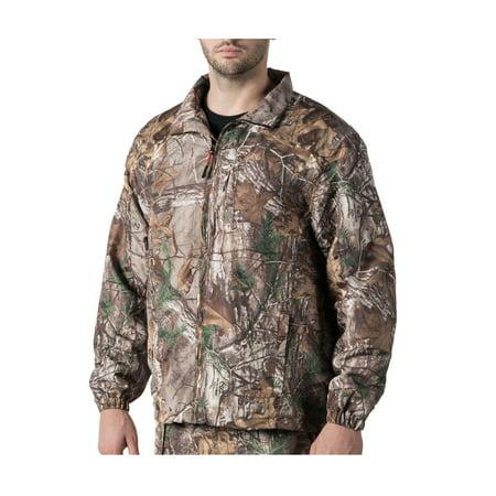 Walls Mens Hunting Ultra Lite Packable Zip Front Jacket 4X
