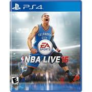 NBA Live 16, Electronic Arts, PlayStation 4, 014633735079