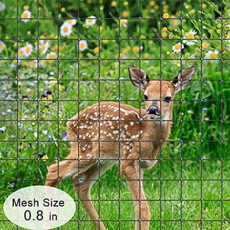 Agfabric 6.5' x 50' EZ-Barrier DFN50 High Strength Deer Fence Deer Block Netting, Black thumbnail