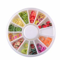 Outtop Fruit Cake Slices SoftScented Stress Relief Toy Sludge Toys For Slime