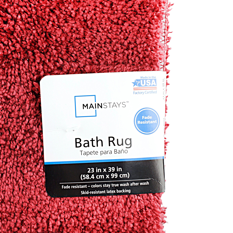 18 x 30 CM-BESTPRICE! Red Microfibre Paw Fabric