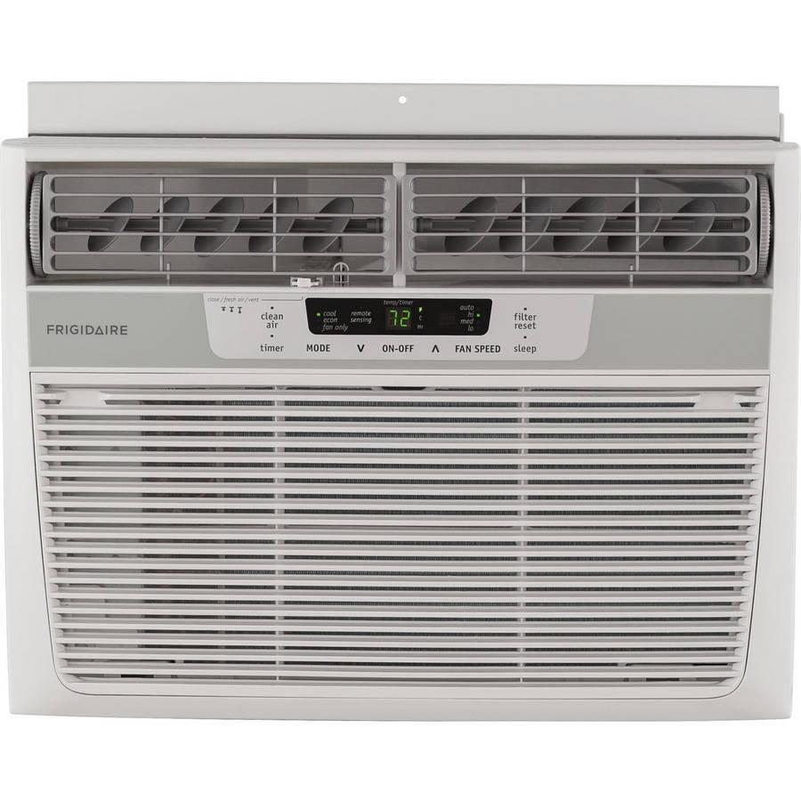 Frigidaire FFRE1233Q1 Energy Efficient 12,000-BTU 115V Window Mounted Compact Air Conditioner ...