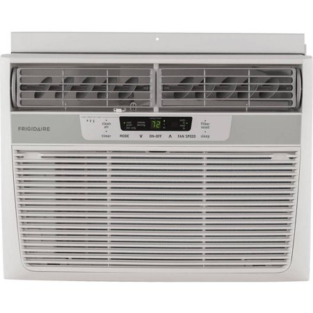 Frigidaire Ffre1233q1 Energy Efficient 12 000 Btu 115V Window Mounted Compact Air Conditioner With Temperature Sensing Remote Control