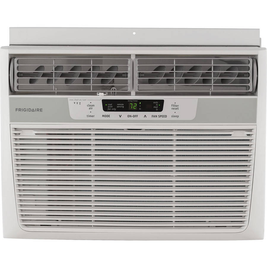 Frigidaire FFRE1233Q1 Energy Efficient 12,000-BTU 115V Window Mounted Compact Air Conditioner with Temperature Sensing Remote Control