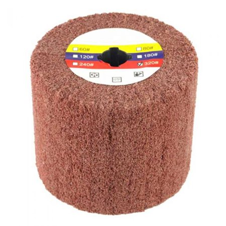 Superior Pads and Abrasives AW-320 Elastic Grain Coated Non Woven Nylon Web Wheel (320 Grit) - Fits Hardin HD-5800 Burnisher / Polisher