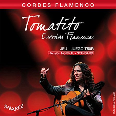 Savarez T50R Nylon Classical Guitar Strings, Normal Tension, Tomatito Flamenco Series By Cordoba Guitars from USA