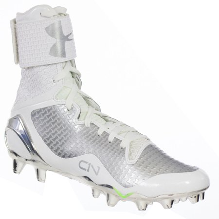 af71e34ebd81 UNDER ARMOUR MEN'S CAM NEWTON FOOTBALL CLEATS C1N MC WHITE SILVER 12 M -  Walmart.com