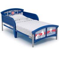 MLB Chicago Cubs Plastic Toddler Bed by Delta Children