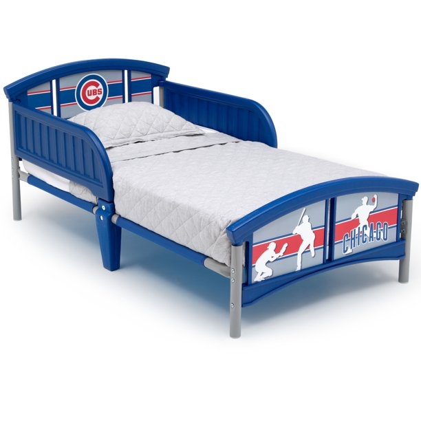 MLB Chicago Cubs Plastic Toddler Bed by Delta Children - Walmart