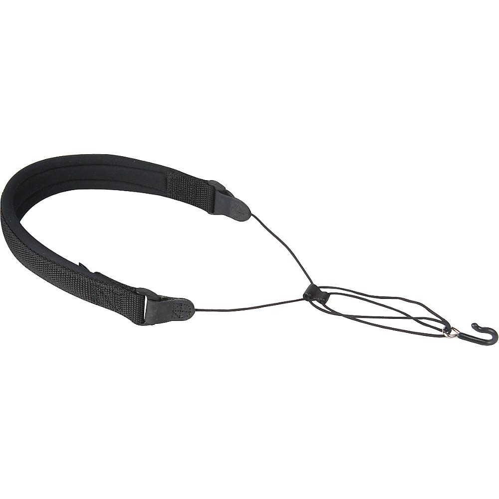 Neotech Wick-It Covered Metal Hook Sax Strap Black Regular
