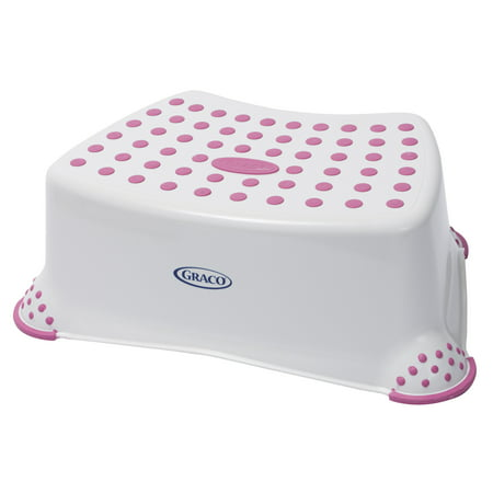 Upc 047968160131 Graco Deluxe Step Stool White Pink