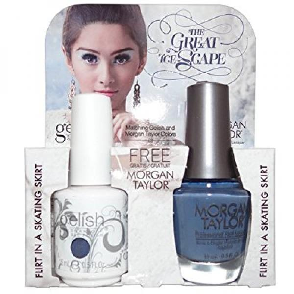 Gelish The Great Ice-Scape Gel Polish + Nail Lacquer Flir...