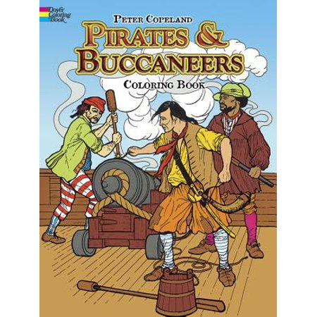 Pirates & Buccaneers Coloring Book - Pirates Of The Caribbean Coloring Pages