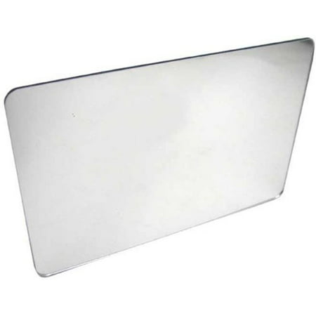 - Pkg (3) Plastic Mirrors with Rounded Corners 3-15/16