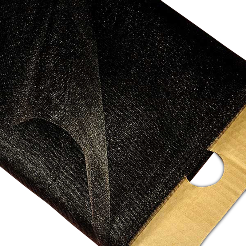 """Shimmer Black Tulle 54"""" X 40 Yards Width 52"""" - 54"""" by Paper Mart"""
