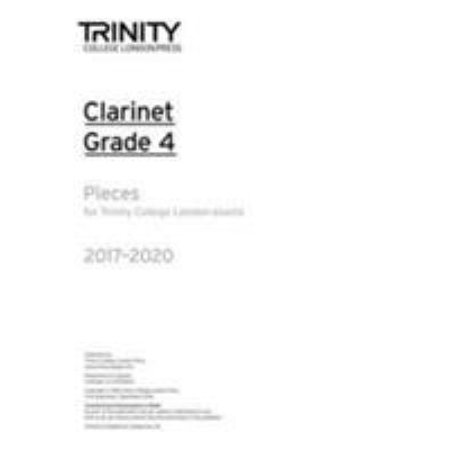 CLARINET EXAM PIECES GRADE 4 20172020 PA