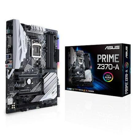 Asus Prime Z370 A Lga1151 Ddr4 Dp Hdmi Dvi M 2 Usb 3 1 With Usb 3 1 For 8Th Generation Intel  Core  Processors Z370 Atx Motherboard
