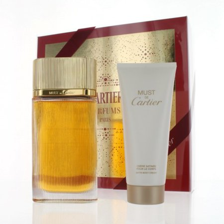 Gold Must De Cartier Gswcartiermustgld2p3 2 Piece Gift Set 33 Oz