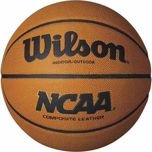 """Wilson NCAA Indoor Outdoor Composite Basketball, Intermediate 28.5"""" by S&S"""