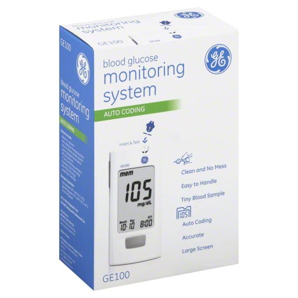 GE100 Blood Glucose Monitoring System, 1 pc
