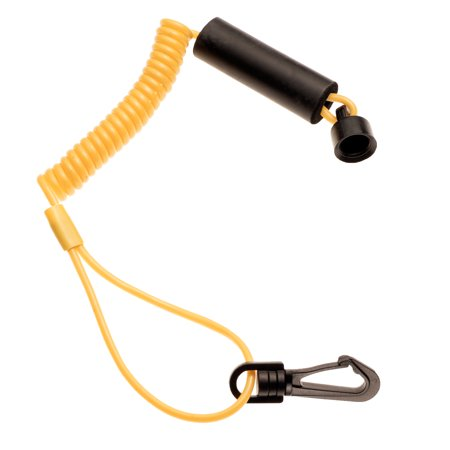 - Sea Doo Non DESS Floating Safety Lanyard Tether Key 1989-1995 Yellow