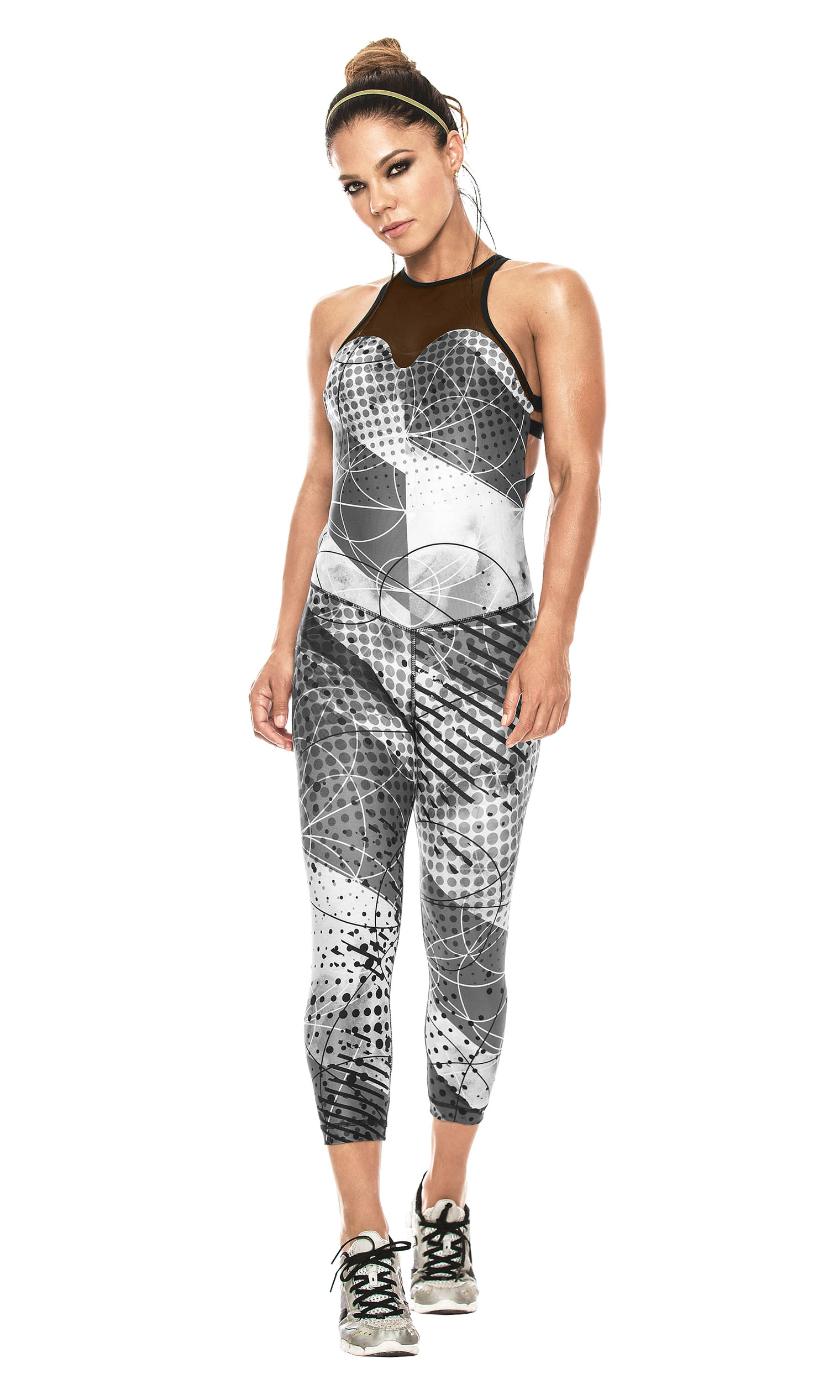 3fe5389ef259 Babalú Fashion Fitness Workout Jumpsuit for Women Gym Sports Jumpsuits  Enterizos Colombianos Deportivos para Mujer Gray One Size