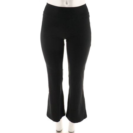Sateen Control Pants (Wicked Women Control Pull-On Knit Boot Cut Pants A288789)