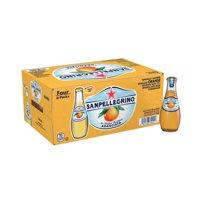 Sanpellegrino Orange Sparkling Fruit Beverage, 6.75 fl oz. Glass Bottles (24 Count)