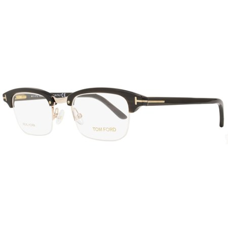 eb149bd1a0 Tom Ford Semi-Rimless Eyeglasses TF5260 032 Size  47mm Water Buffalo Horn Gold  Plated 5260 - Walmart.com