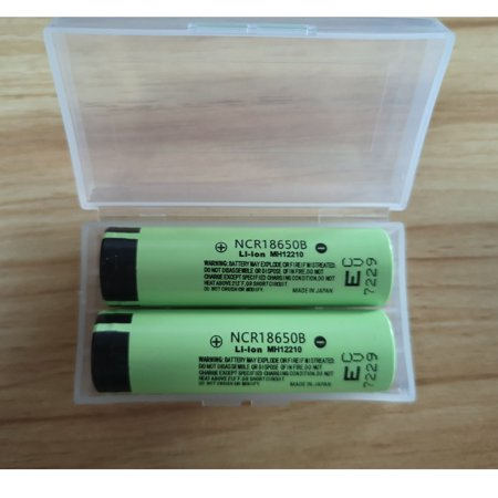 4-Pack 3.7V 18650 3400mAH Li-ion Rechargeable Battery Lithium batteries for LED Flashlight Torch, Electric Tools, Remote Control, LED Flashlights, Small Fan, Radio, -