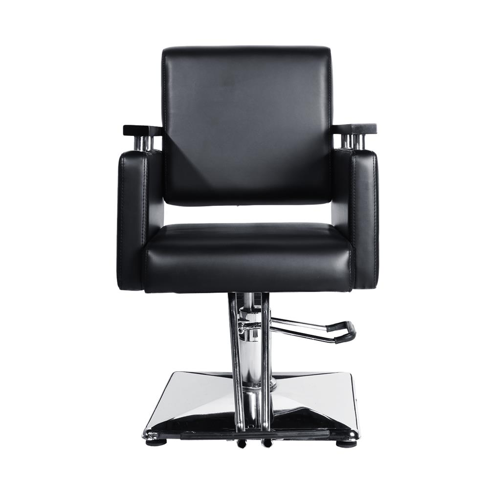 BEAMNOVA Styling Chair With Heavy Duty Spa Beauty Hydraulic Pump Modern  Square Design And Assembled Reclining