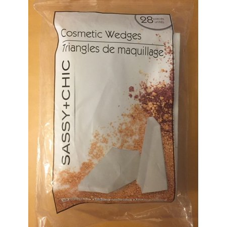 Professional Cosmetic Wedges - Eponges a maquillage, 28 Wedges By DeArtist From USA