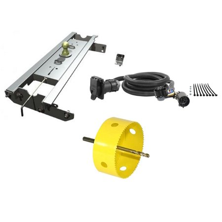 B&W Hitches GNRK1111 Turnoverball Gooseneck Hitch Trailer Kit with on