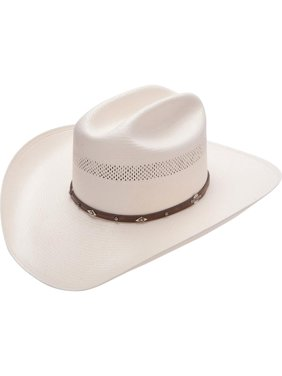 068d3145 Product Image Stetson Men's Lobo 10X Straw All-Around Vent Star Concho Band  Cowboy Hat - Sslobo