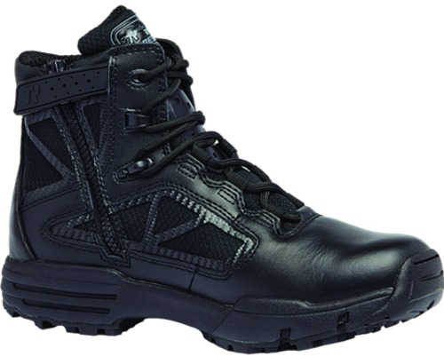 "Belleville TR916Z Men 6"" Tactical Research Chrome Hot Weather Side Zip Boot"